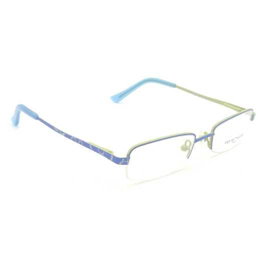 0217281 - Armação Inf Metal (v) 44x17 Azul/Amarelo Mod 17281 FLAG 9 - Contém 1 Peça