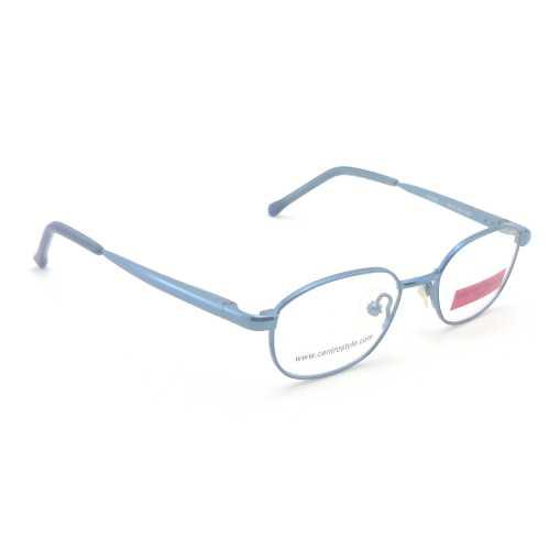 0217300 - Armação Inf Metal (v) 40x15 Azul Mod 17300 FLAG 9 - Contém 1 Peça