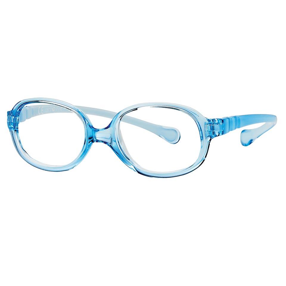 0217341N-Armação Active Spring Oval 40x14 Azul Cl Mod 17341N - Contém 1 Peça  - ENTREGA IMEDIATA