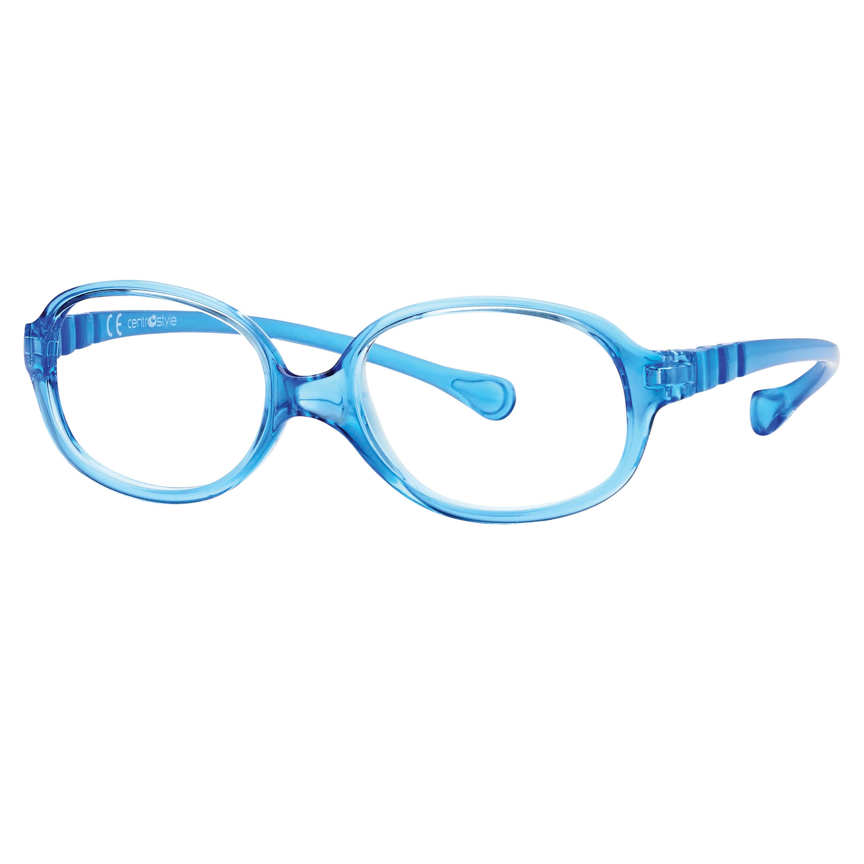 0217356N-Armação Active Spring Oval 44x15 Azul Cl Mod 17356N - Contém 1 Peça  - ENTREGA IMEDIATA