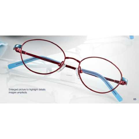 0219318 - Armação Metal (v) 45x15 Vermelho/Azul Mod 19318 FLAG 9 - Contém 1 Peça