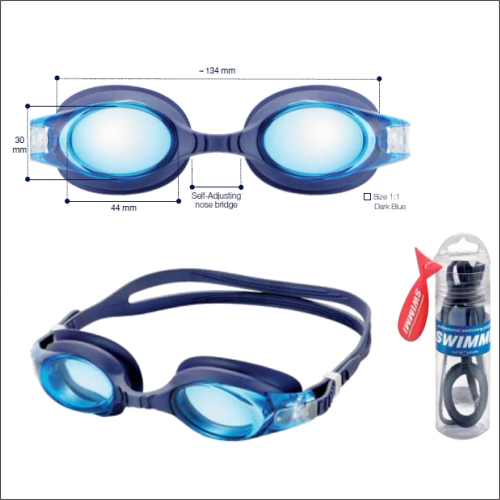 0255270 - Óculos Natação Swimmi Soft Tam44 +6,00 Mod 55270 - Contém 1 Peça