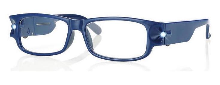 0260280 - Óculos Leitura Night Vision Azul +1,00 Mod 60280 FLAG 9  -Contém 1 Peça