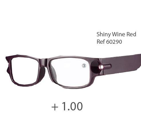 0260290 - Óculos Leitura Night Vision Bordo +1,00 Mod 60290 FLAG 9 - Contém 1 Peça