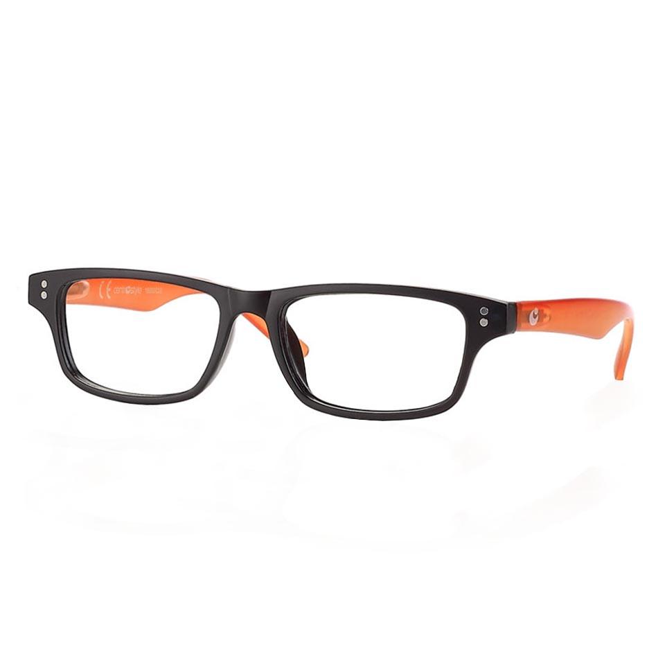 0260758 - Óculos Leitura OPOR New Preto/Laranja +3,00 Mod 60758 FLAG 9 - Contém 1 Peça