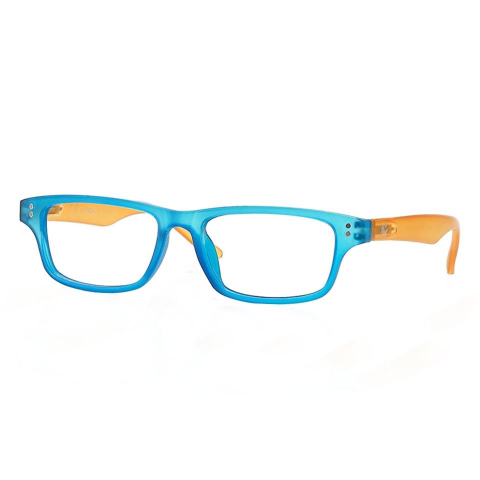 0260760 - Óculos Leitura OPOR New AzulClaro/Amarelo +1,00 Mod 60760 FLAG 9 - Contém 1 Peça