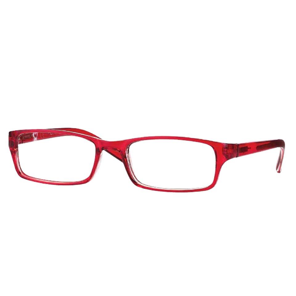 0260810 - Óculos Leitura OPOR Vermelho +1,00 Mod 60810 FLAG 9 - Contém 1 Peça