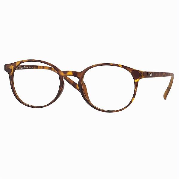 0260850N - Óculos Leitura OPOR Redondo Tartarugato +1,00 Mod 60850N - Contém 1 Peça