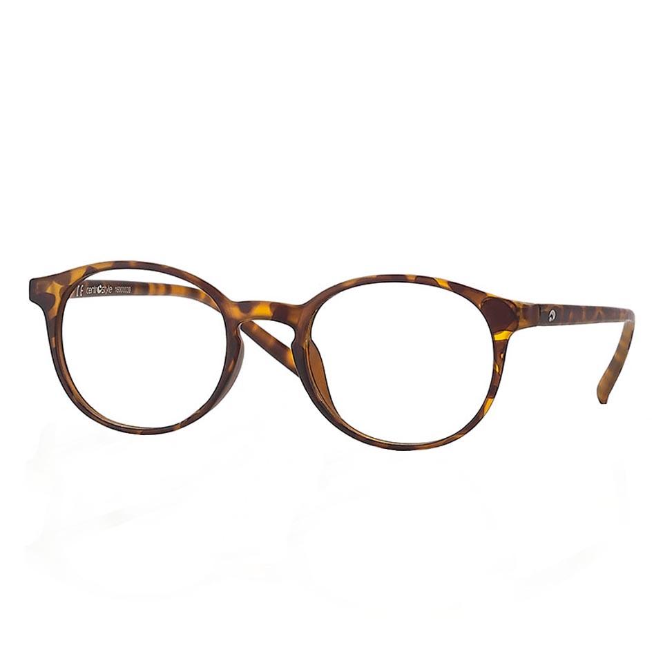 0260852 - Óculos Leitura OPOR Redondo Tartarugato +1,50 Mod 60852 - Contém 1 Peça