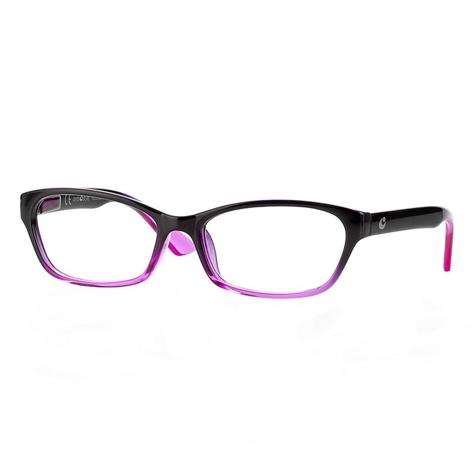 0260896 - Óculos Leitura OPOR Preto/Rosa Degrade +2,50 Mod 60896 FLAG 9 - Contém 1 Peça