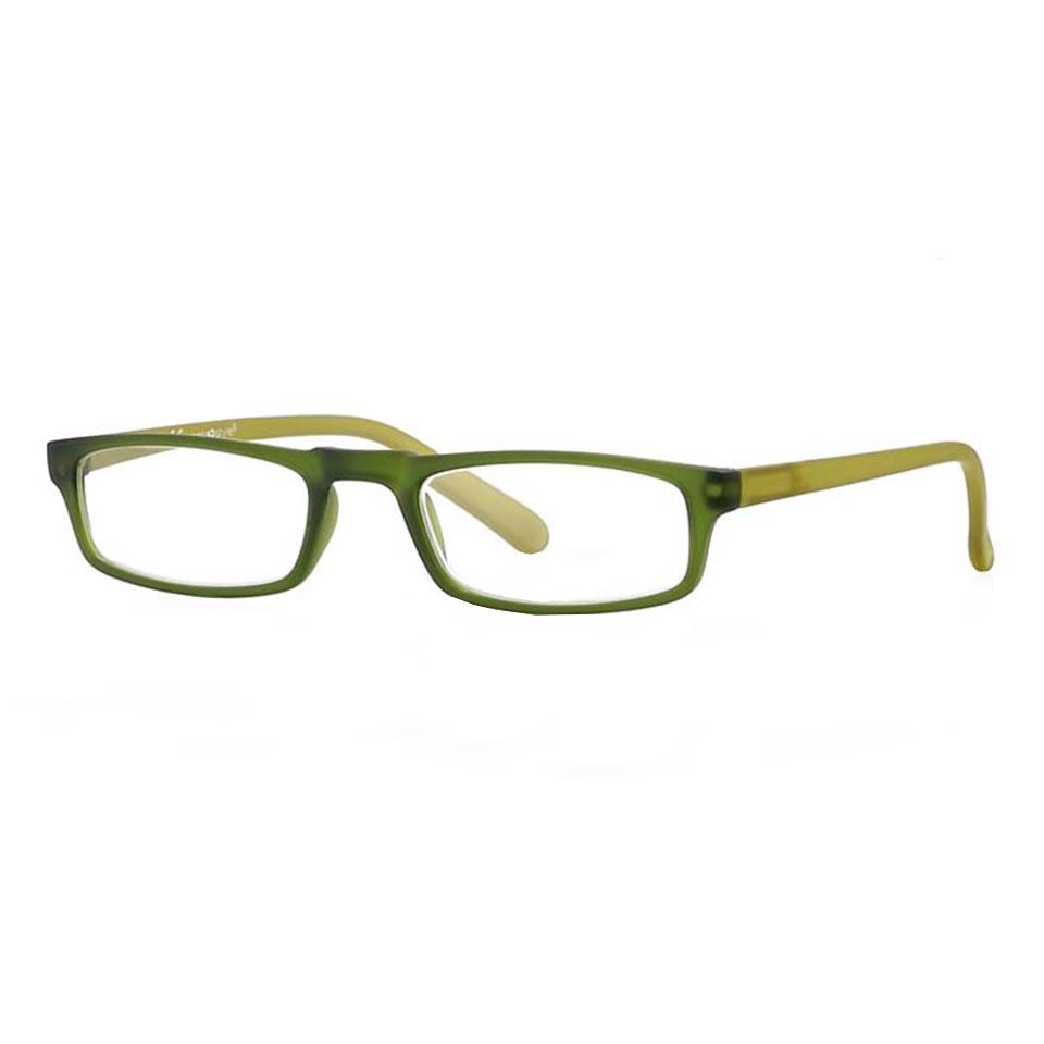 0261066 - Óculos Leitura Soft Touch Verde Esc/Verde +2,50 Mod 61066 FLAG 9  -Contém 1 Peça