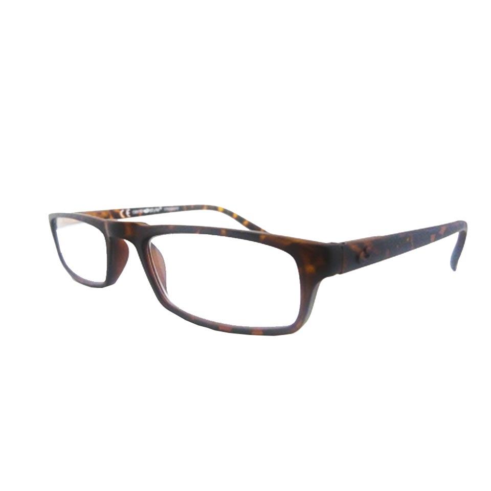 0261075 - Óculos Leitura Soft Touch Tartarugato +2,25 Mod 61075 FLAG 9 - Contém 1 Peça