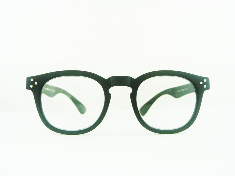 0261400 - Óculos Leitura Retro Plastico Preto +1,00 Mod 61400 FLAG 9  -Contém 1 Peça