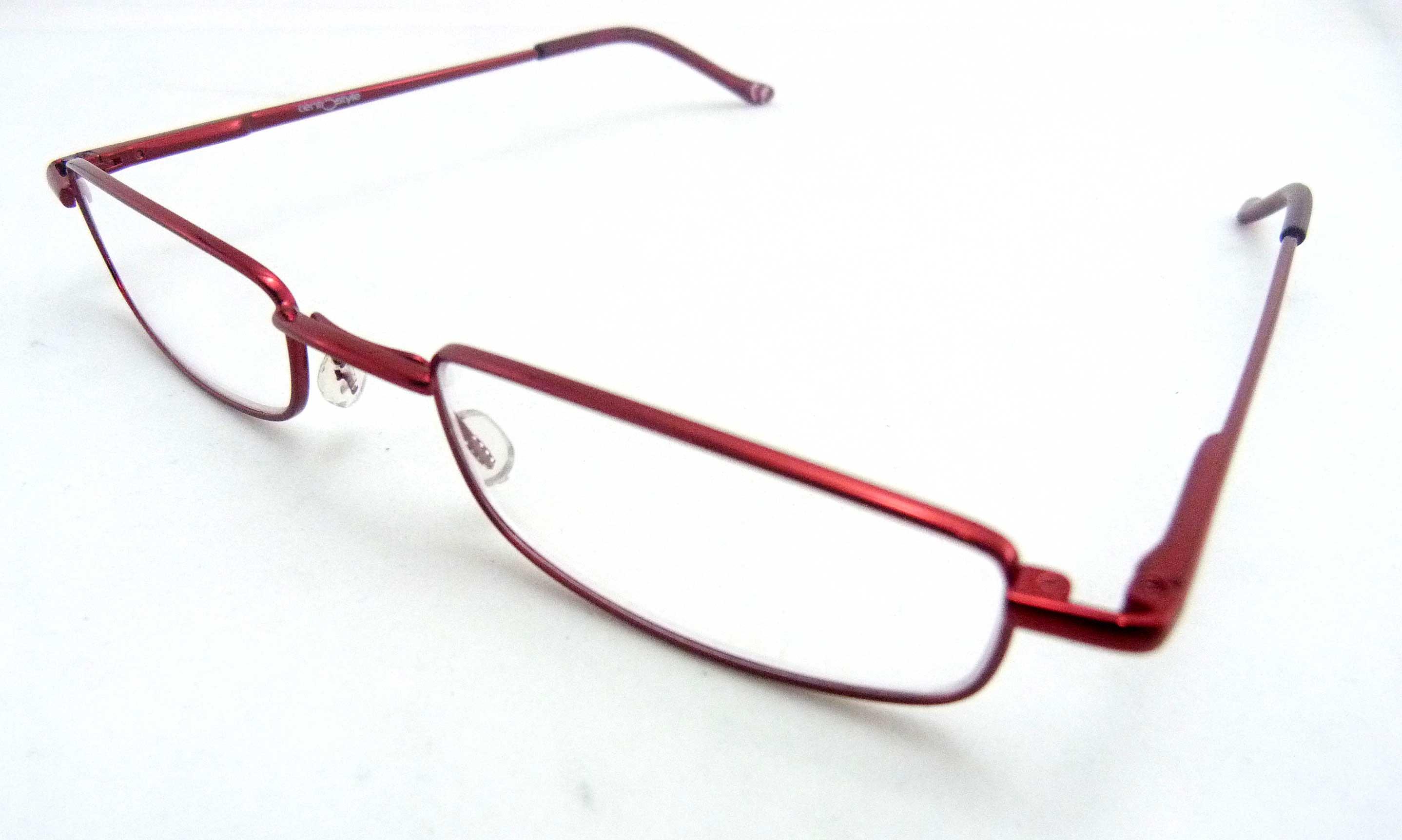 0263520 - Óculos Leitura Flex AT +1,00 Vermelho Mod 63520 FLAG 9  -Contém 1 Peça