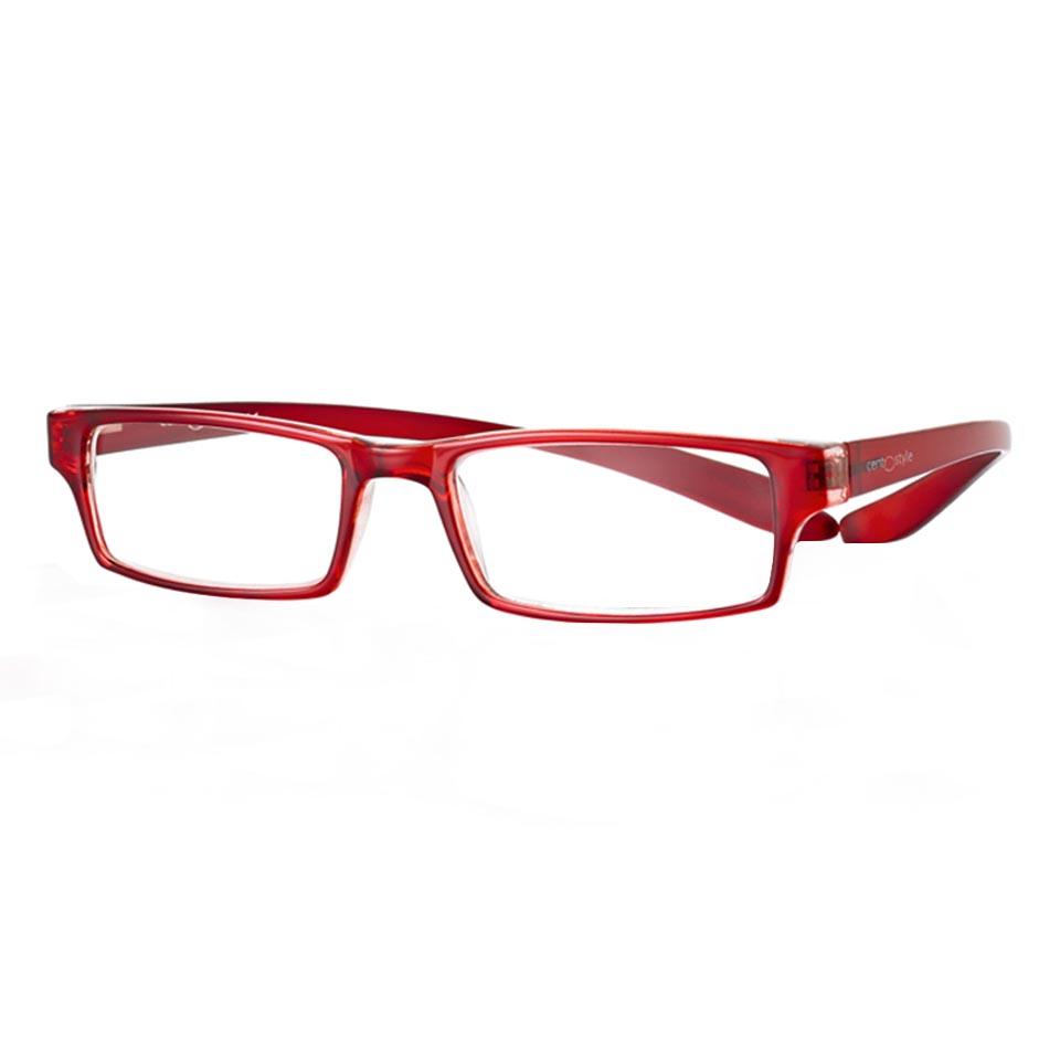 0267536 - Óculos Leitura Koala Vermelho +2,50 Mod 67536 - Contém 1 Peça