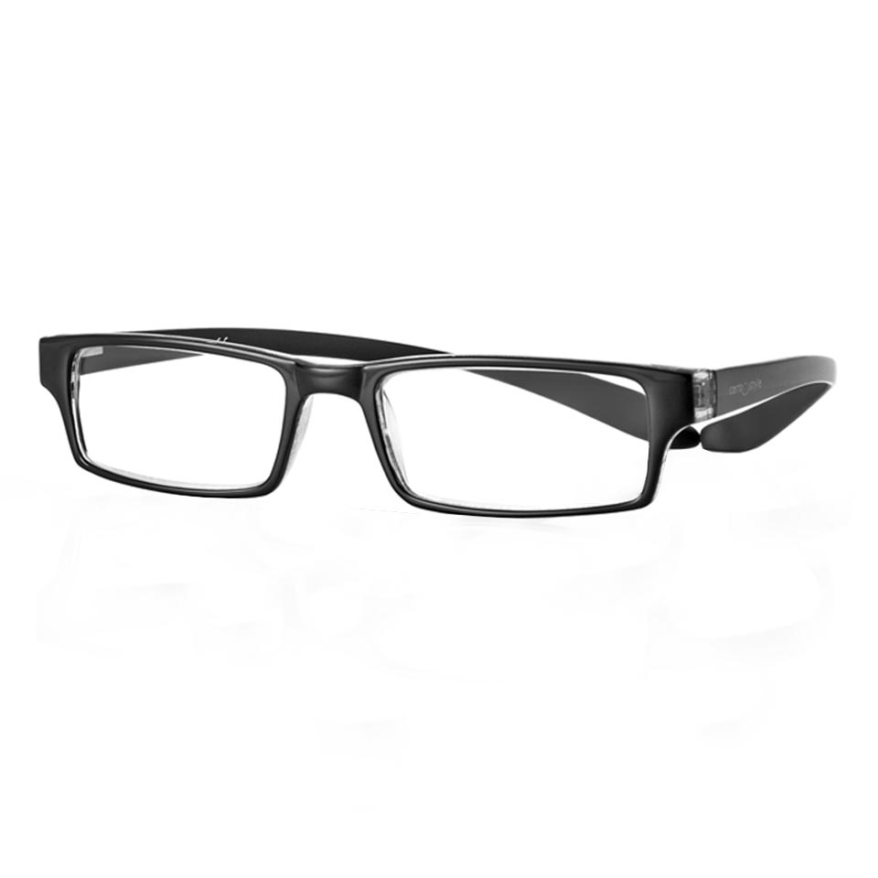 0267558 - Óculos Leitura Koala Preto +3,00 Mod 67558  -Contém 1 Peça