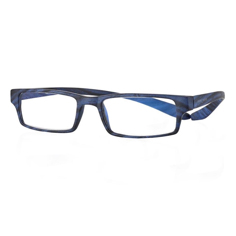 0269408 - Óculos Leitura Koala Woodlike Azul +3,00 Mod 69408 FLAG 9  -Contém 1 Peça