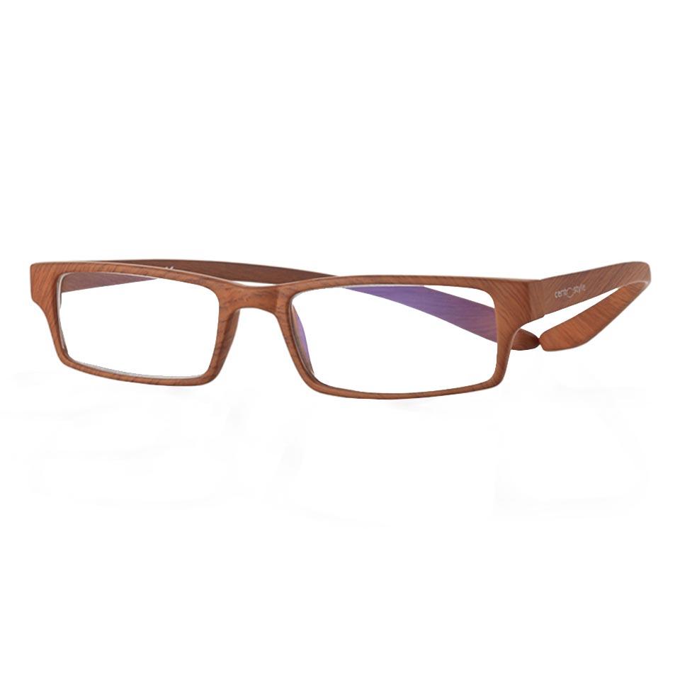 0269420 - Óculos Leitura Koala Woodlike Marrom +1,00 Mod 69420 FLAG 9  -Contém 1 Peça