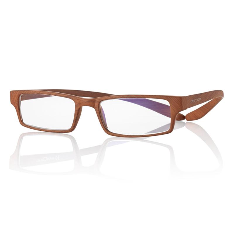 0269424 - Óculos Leitura Koala Woodlike Marrom +2,00 Mod 69424 FLAG 9  -Contém 1 Peça