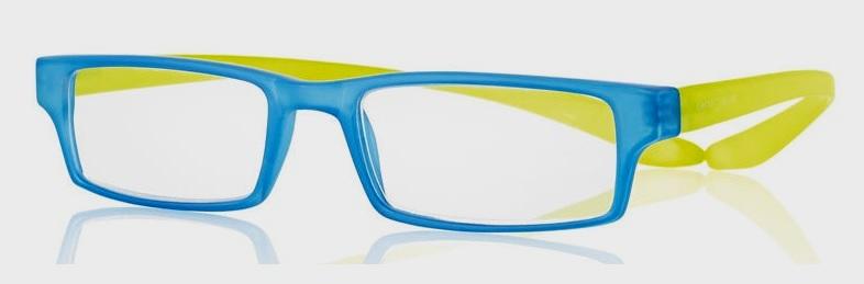 0269501 - Óculos Leitura Koala Rainbow Azul/Verde +1,25 Mod 69501 FLAG 9 - Contém 1 Peça