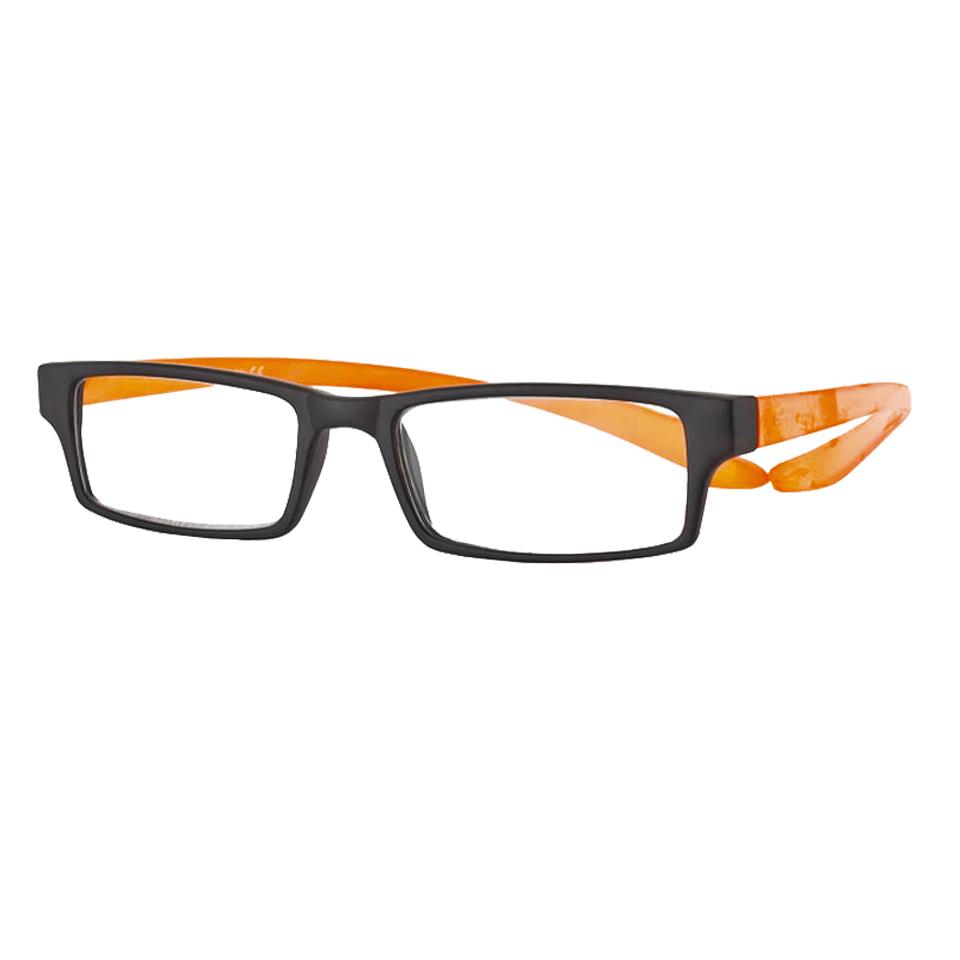 0269529 - Óculos Leitura Koala Rainbow Cinza/Laranja +3,50 Mod 69529  -Contém 1 Peça