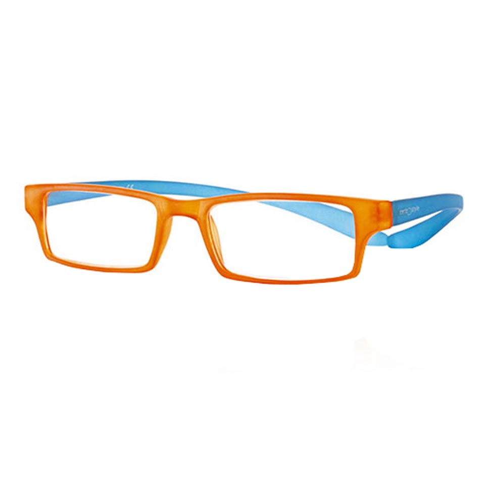 0269530 - Óculos Leitura Koala Rainbow Laranja/Azul +1,00 Mod 69530 FLAG 9 - Contém 1 Peça