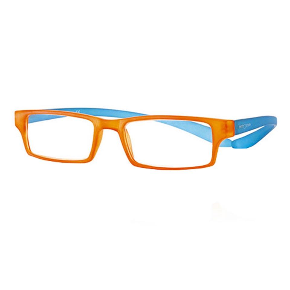 0269538 - Óculos Leitura Koala Rainbow Laranja/Azul +3,00 Mod 69538 FLAG 9 - Contém 1 Peça