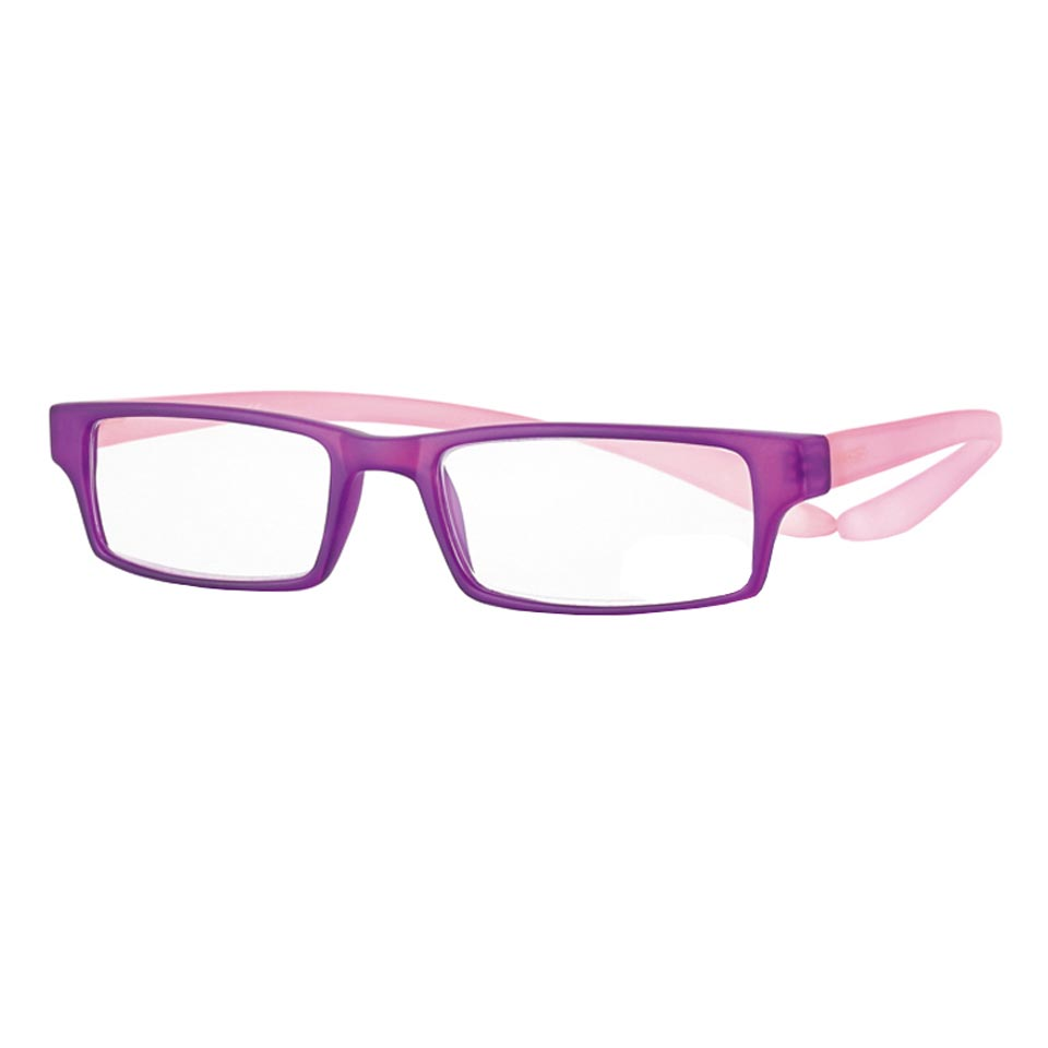 0269540 - Óculos Leitura Koala Rainbow Roxo/Rosa +1,00 Mod 69540  -Contém 1 Peça