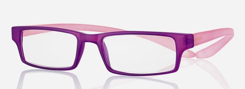 0269547 - Óculos Leitura Koala Rainbow Roxo/Rosa +2,75 Mod 69547 FLAG 9 - Contém 1 Peça