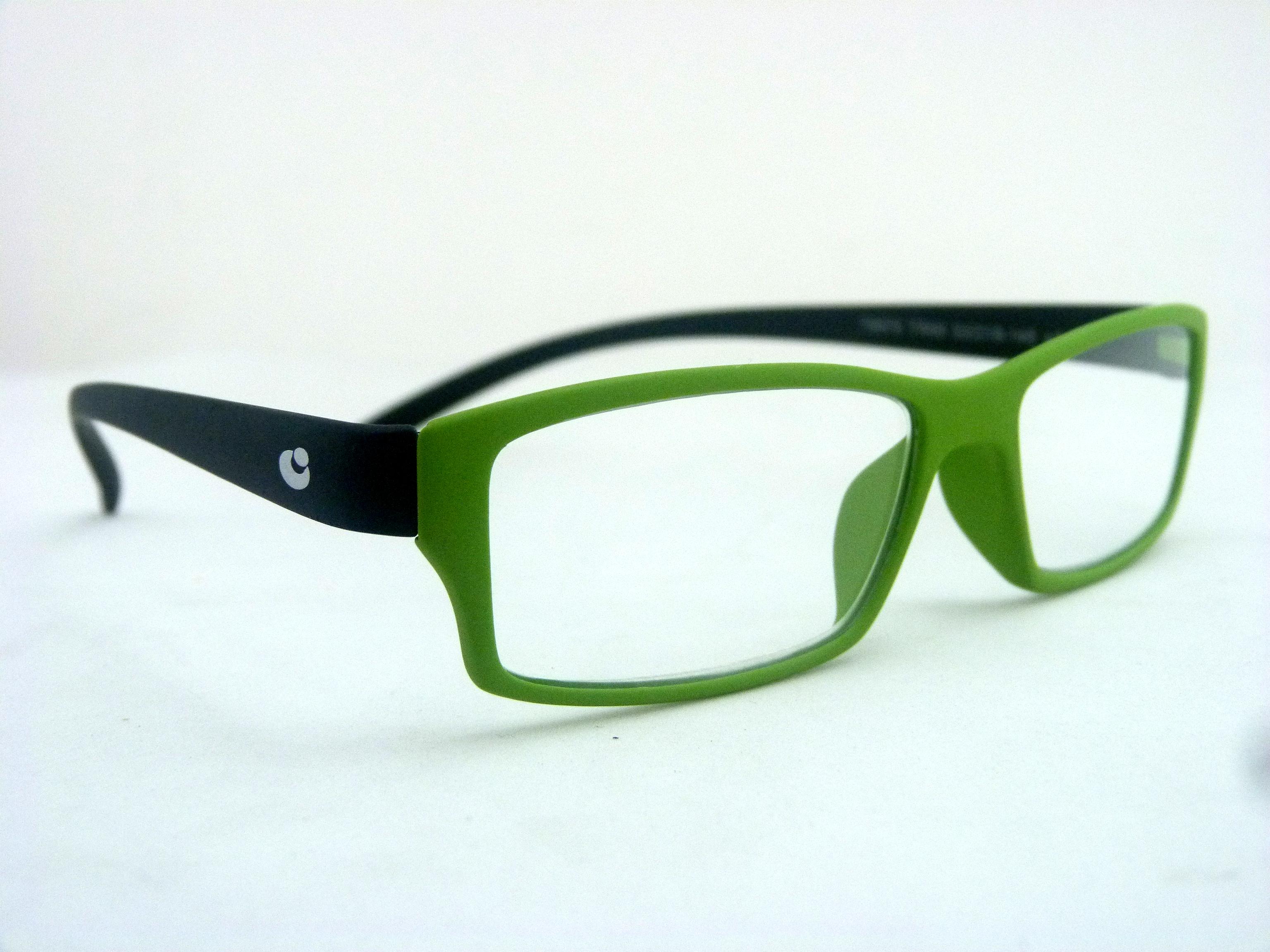 Óculos Leitura Rubber Colour Eco Verde/Pr +3,00 Mod 79978