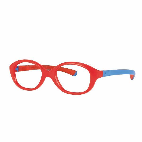 02F000340027000 - Armação Inf Active Flex 40x14 Vermelho/Azul Mod F000340027000 FLAG E  -Contém 1 Peça