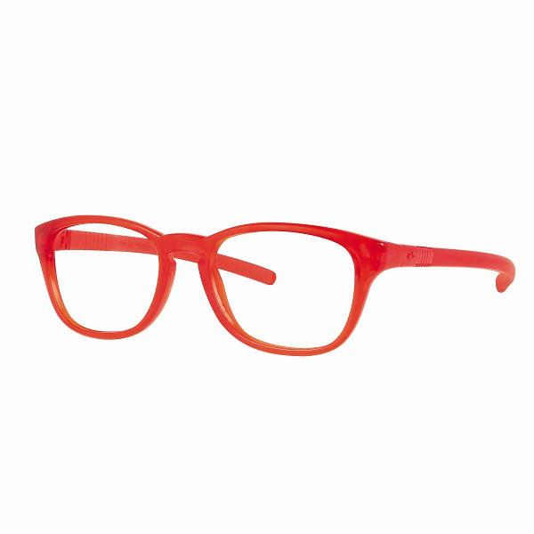 02F000446026000 - Armação Active Flex 46x16 Vermelho/Vermelho Mod F000446026000 FLAG 9 - Contém 1 Peça
