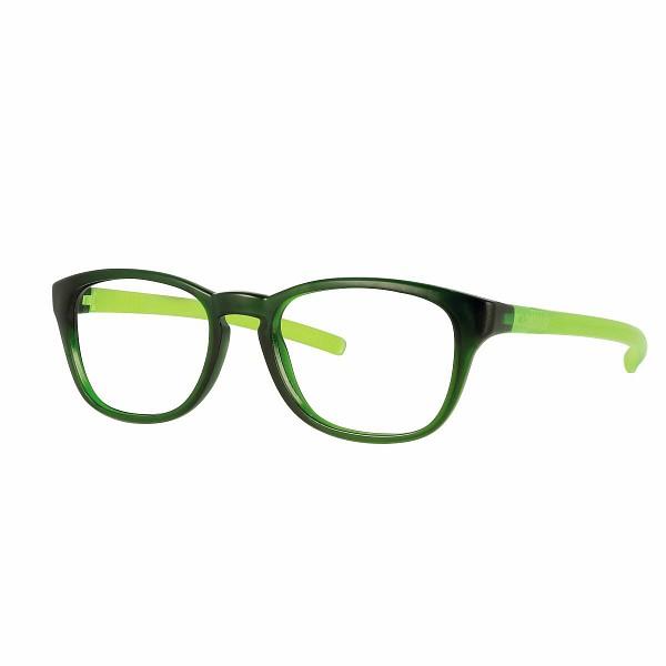 02F000446030000 - Armação Inf Active Flex 46x16 Verde Esc/Verde Neon Mod F000446030000  -Contém 1 Peça