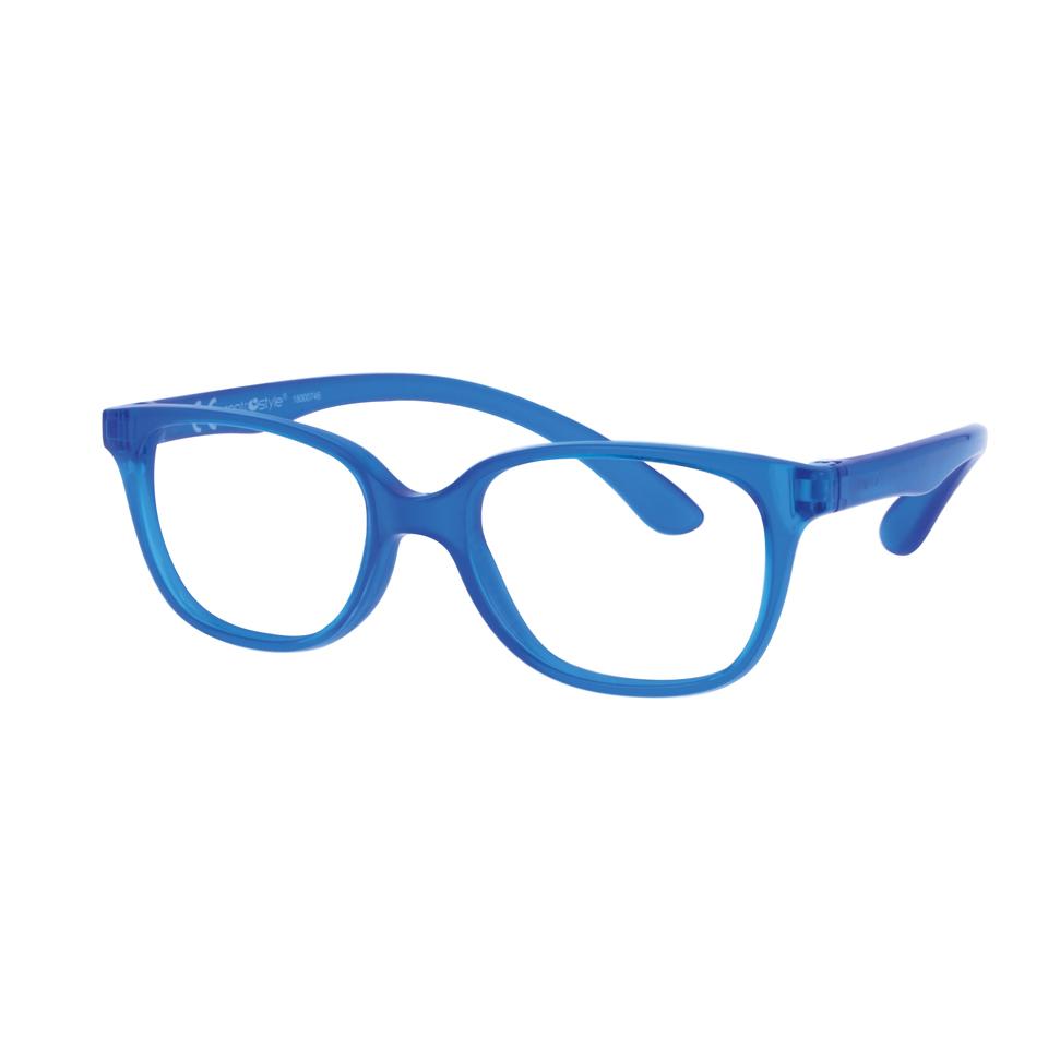 02F008346149000 - Armação Inf Active Rubber TR90/Goma (5) 46x16 Azul Mod F008346149000 - Contém 1 Peça