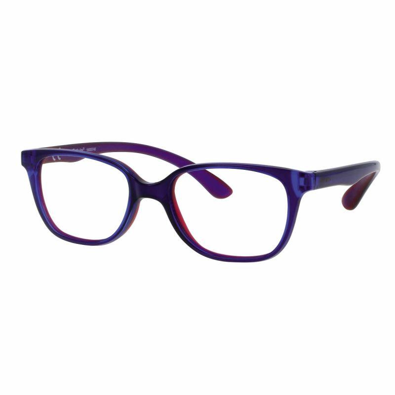 02F008346151000 - Armação Active Rubber 46x16 Azul/Vermelho Mod F008346151000 - Contém 1 Peça