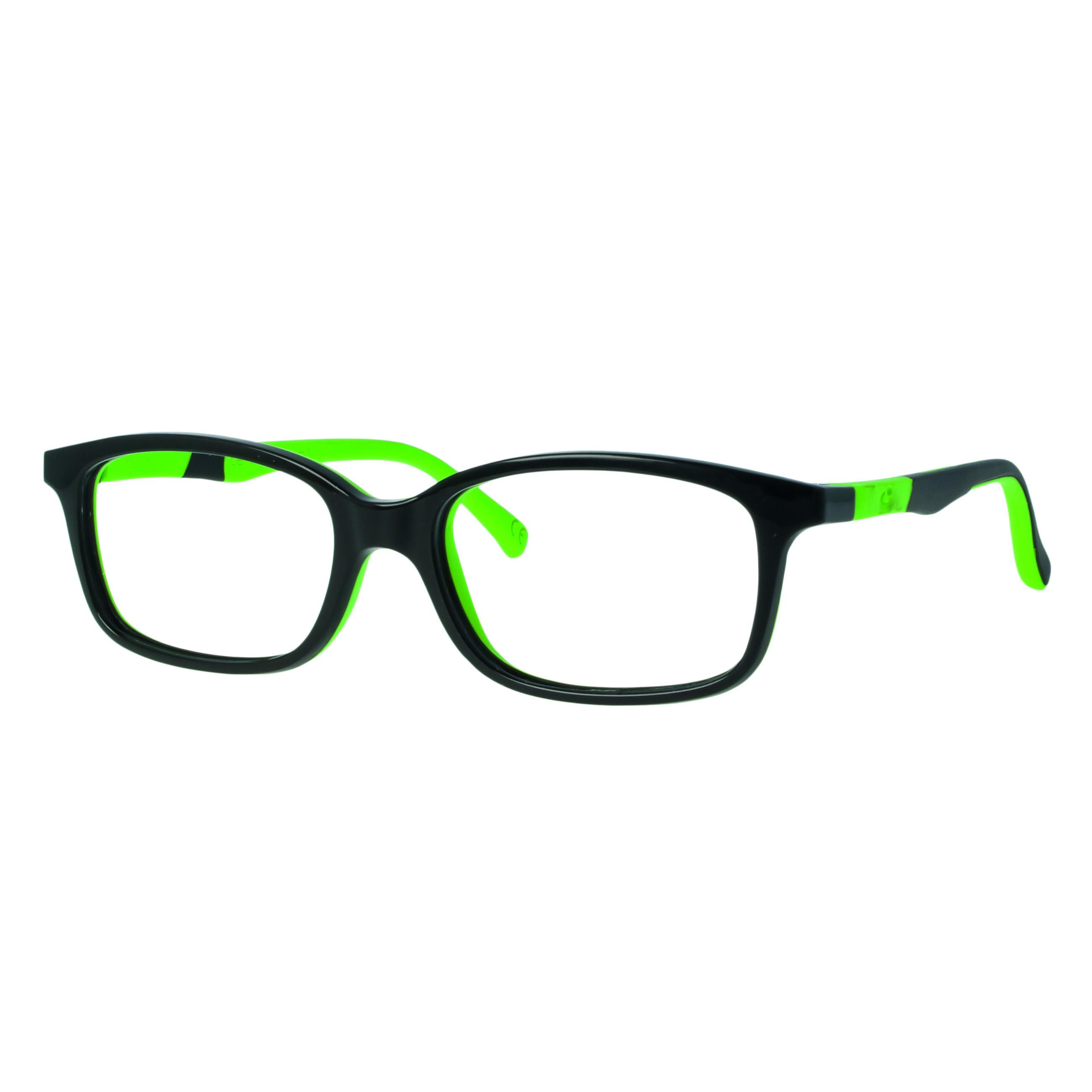 02F017146160000 - Armação Active Memory (5) 46x15 Preto/Verde Brilhante Mod F017146160000 - Contém 1 Peça