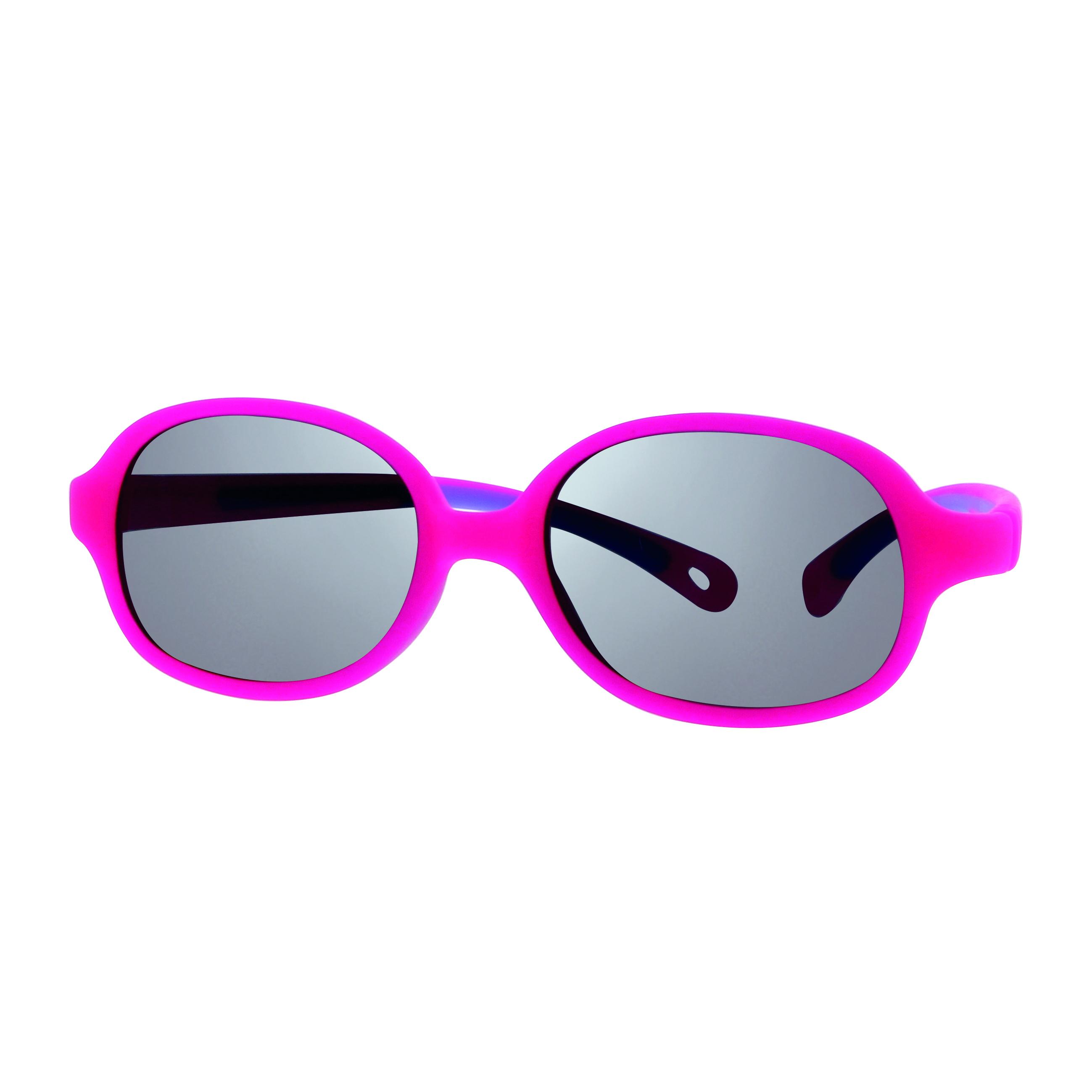 02S009542177001 - Óculos-Solar Inf Baby One 42x15 Rosa/Roxo Mod S0095 FLAG E - Contém 1 Peça SOB ENCOMENDA