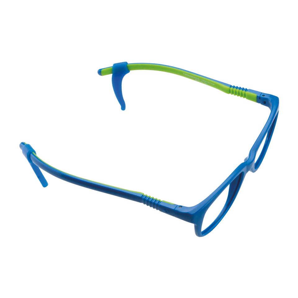 02F000646035000 - Armação Active Flex 46x16 Azul/Verde Neon Mod F000646035000 FLAG 9 - Contém 1 Peça