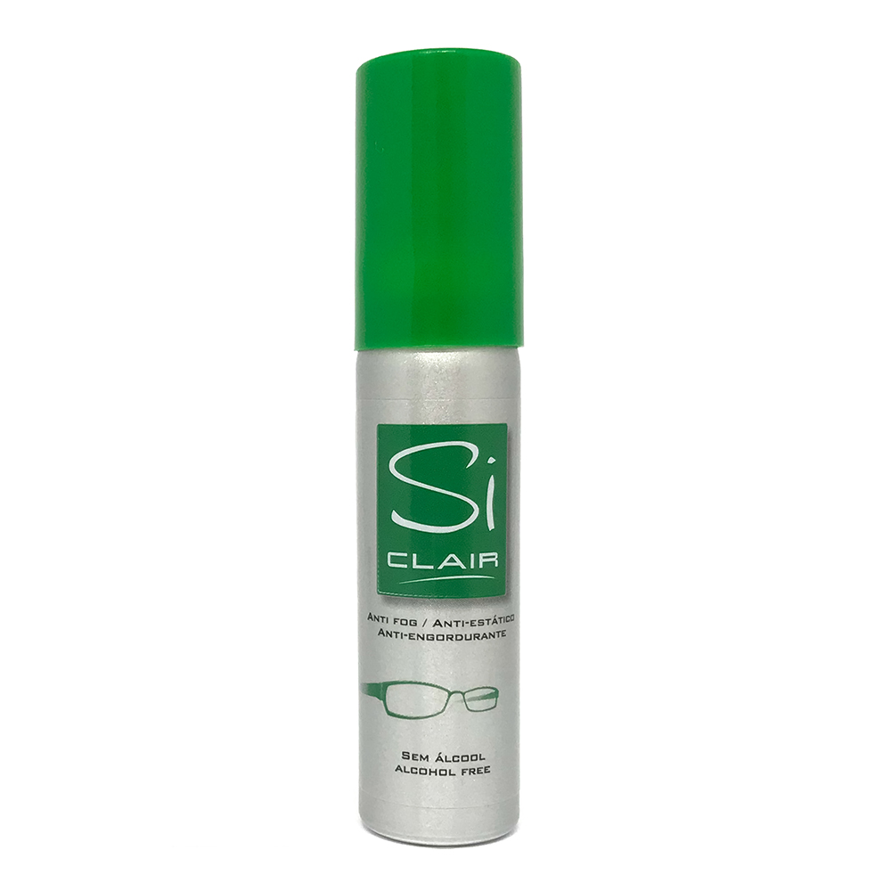 0303008 - Limpa-Lente Siclair Spray Anti-Embaçante Verde Mod 22 ml [box 25] - Contém 1 Peça