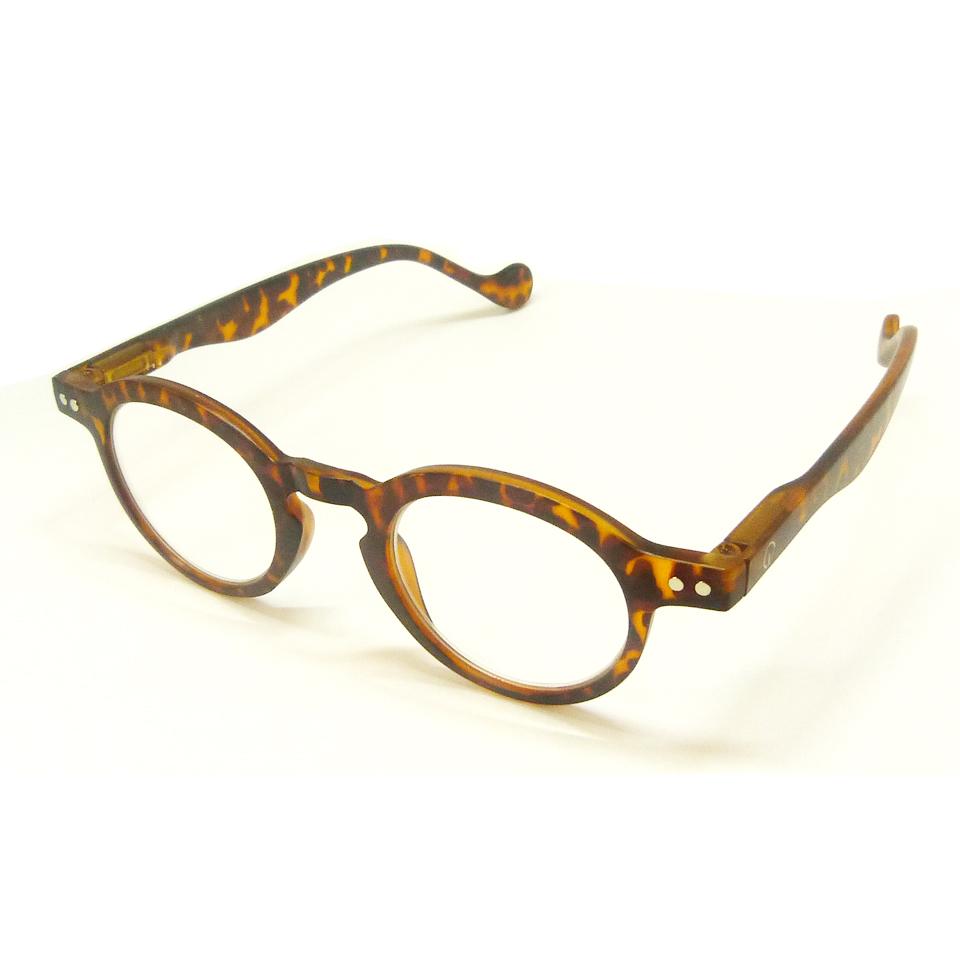 0860021-Óculos Leitura Redondo Demi +1,00 FLAG X - Contém 1 Peça  - ENTREGA IMEDIATA
