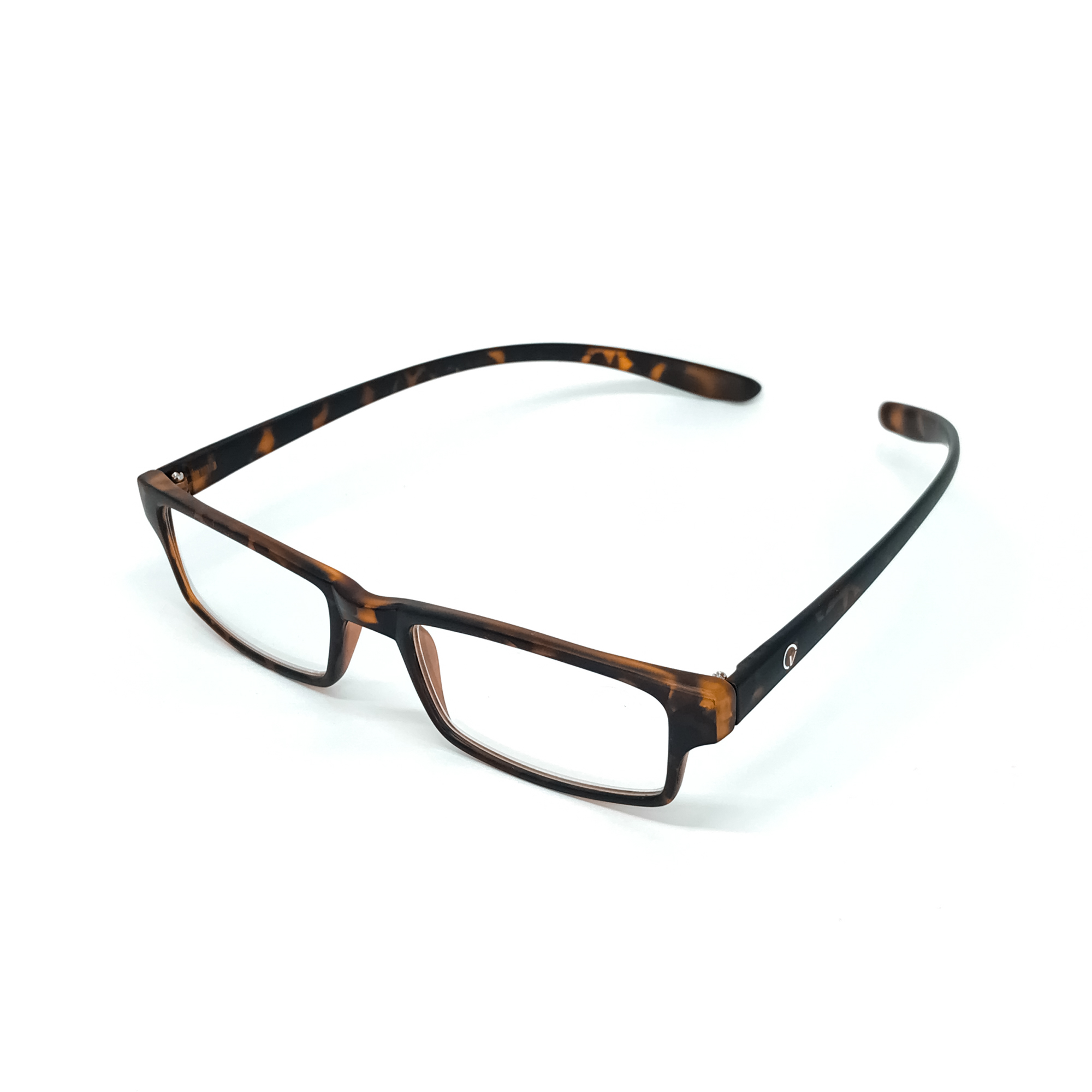 0869023 - Óculos Leitura Retangular Demi +2,00 - Contém 1 Peça
