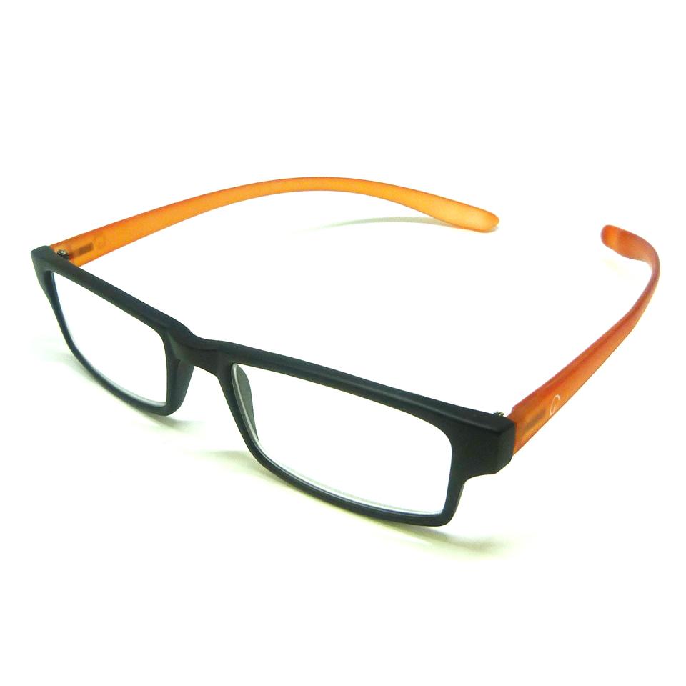 0869045 - Óculos Leitura Retangular Preto/Lar +3,00 Mod AR5087 - Contém 1 Peça