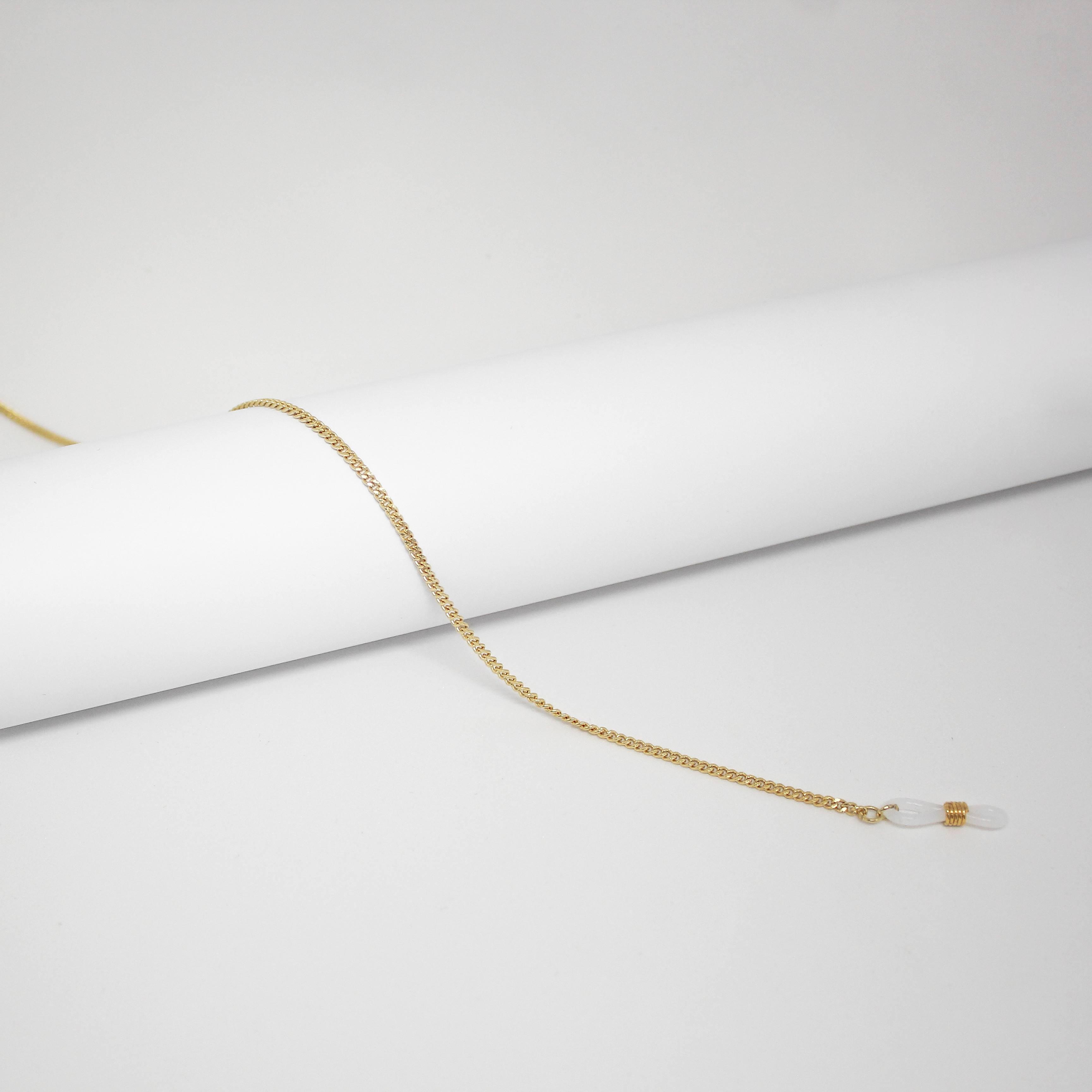 1605321 - Corrente Grumet Fina Ouro - Contém 3 Peças