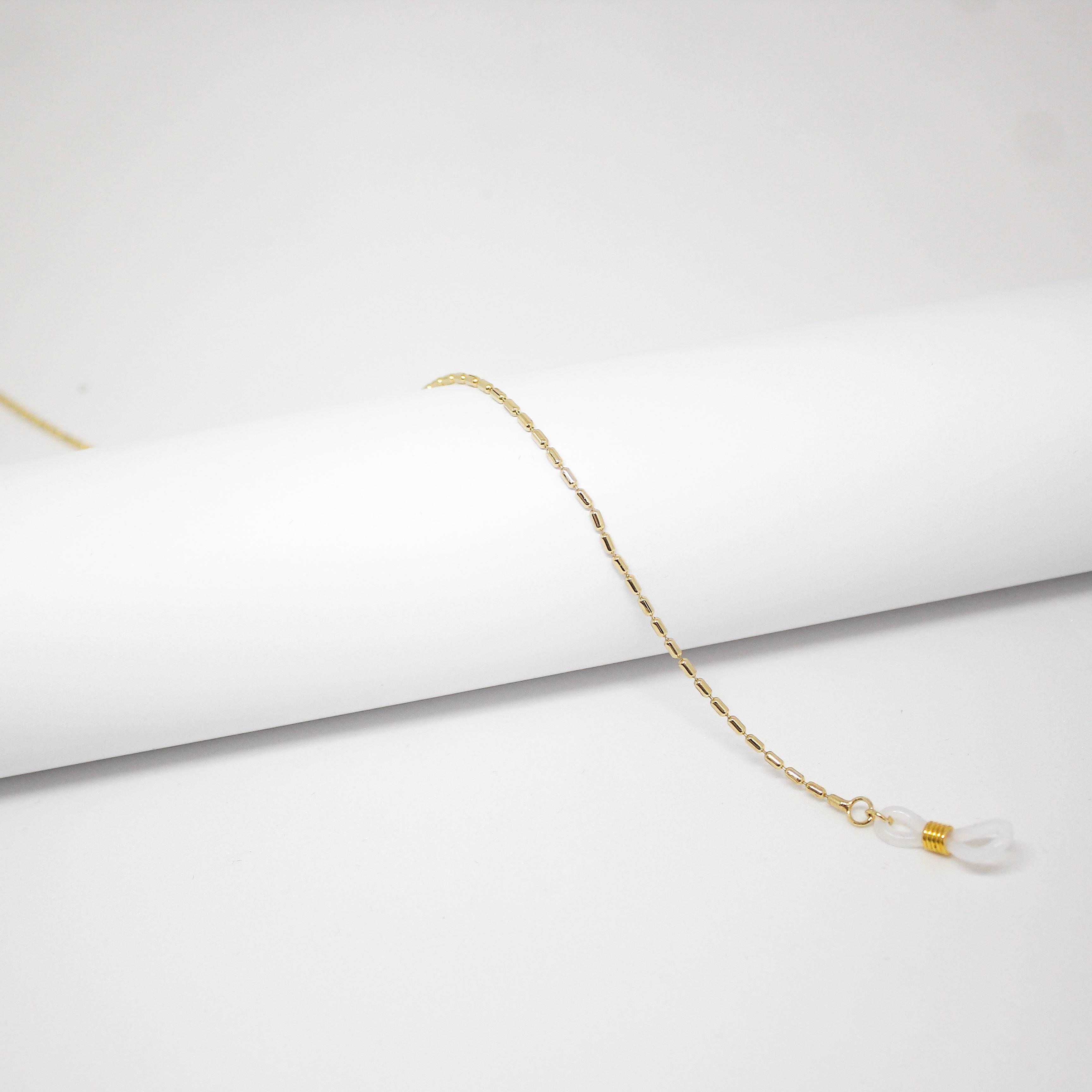 16176431 - Corrente Bastão Mini Ouro - Contém 3 Peças