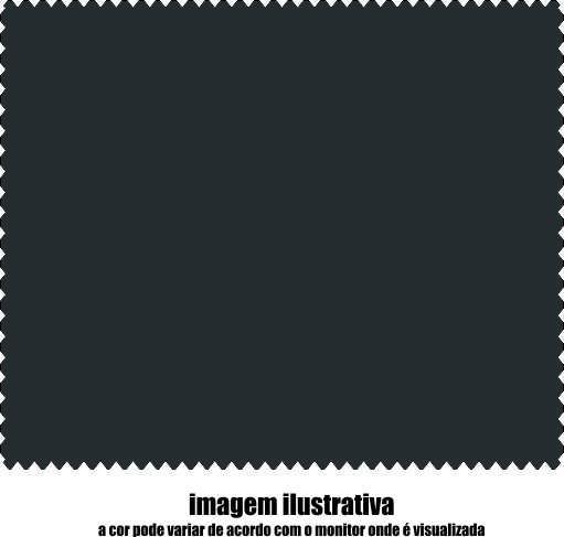 17F0134 - Microfibra Economica 15x18 Preta - Contém 1000 Peças