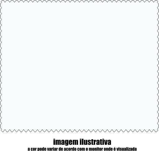 17F0121 - Microfibra Economica 15x15 Branca  -Contém 1000 Peças