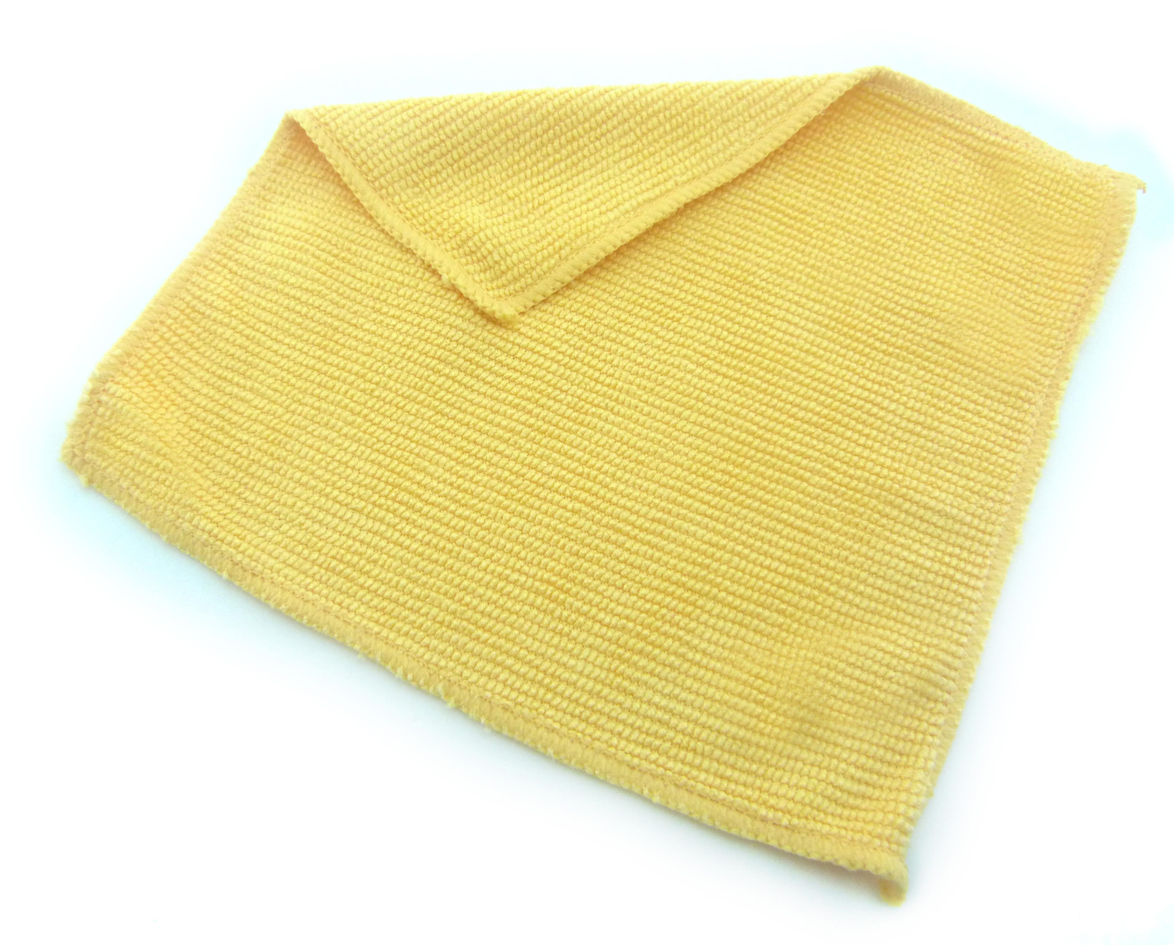 17F0515 - Microfibra Felpuda 15x15 Amarela  -Contém 1 Peça