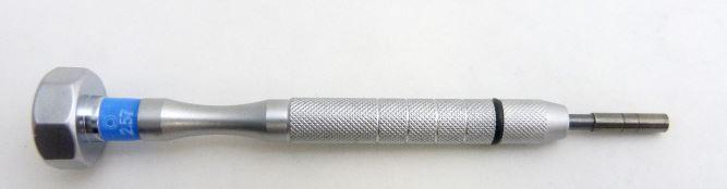 2602031.1 - Reposição_Chave Hexagonal 2,5mm Mod Vanin FLAG E  -Contém 1 Peça