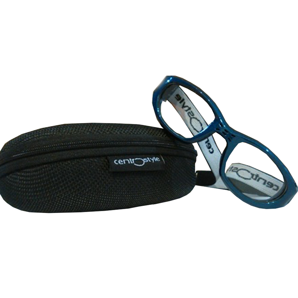 0213437 - Óculos Esporte Banda Elástica 55-23 Azul/Azul Mod 13437 - Contém 1 Peça