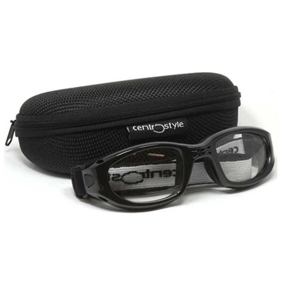 0213438 - Óculos Proteção Esporte Banda Elástica 55x23 Preto MOD 13438 - Contém 1 Peça